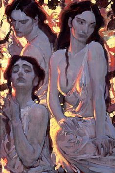 Three Sisters by John Watkiss