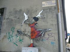 street ART Padova (Italy) .Léa.