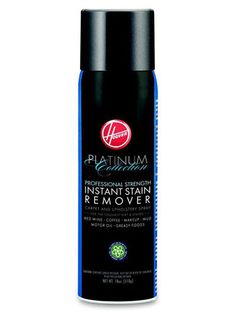 Whether you're looking at fresh messes or set-in stains, Hoover Platinum Instant Carpet Spray ($10 for 18 oz.) should get the job done quickly.  Plus, it's safe to use on upholstery, too.