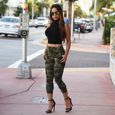 Get the look at HotMiamiStyles.com - search: Top: 3527 Pants: 991 Shoes: Madice