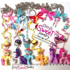 Long Necklace: My Little Pony (MLP)  from PopSweetJewelry