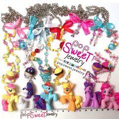 Long Necklace: My Little Pony (MLP)  from PopSweetJewelry