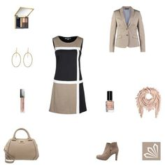 Outfit »Graphic Taupe«