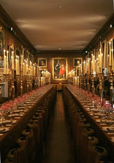 """Long view of Dining Room Althorp Estate 'Dining room"""" - Google Search"""