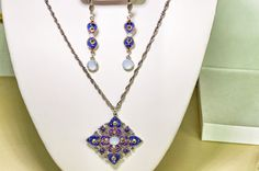 Anne Koplik- Necklace and Matching Earrings