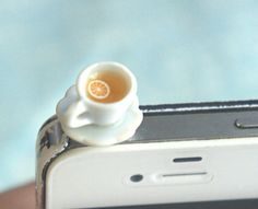 I found 'lemon tea phone plug' on Wish, check it out!