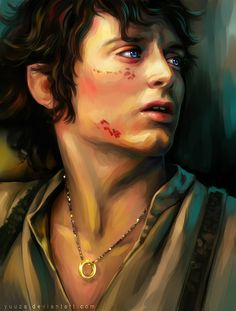 Frodo Baggins, the first character to make me addicted to anything Tolkien XDDD with his big blue eyes actually i might have over did it at the eyes a bit Frodo Bolsón, Frodo Baggins, Gandalf, The Hobbit Characters, The Hobbit Movies, Thranduil, Legolas, Big Blue Eyes, Jrr Tolkien