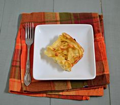 Onion Noodle Kugel