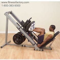 BODY-SOLID LEG PRESS HACK SQUAT MACHINE  Body-Solid engineers knew that the best way to build an explosive lower body, and stay that way, would be to make your workouts incredibly Powerful... Comfortable... and Safe.