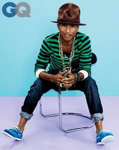 Pharrell | GQ | April 2014.