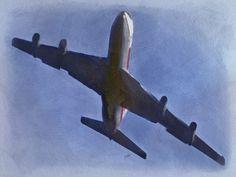 Pencil Wash Plane