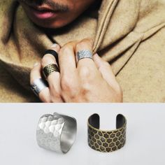 Bendable Honeycomb Set Knuckle-Ring 21