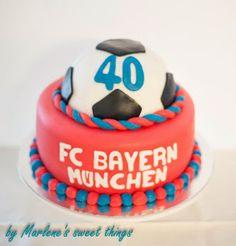 Soccer cake: FC Bayern München
