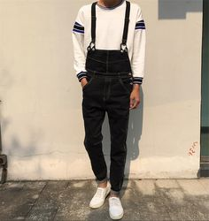45.00$  Buy now - http://alixgk.worldwells.pw/go.php?t=32557540649 - Brand new men jeans 2015 Fashion denim men overalls plus size men denim jeans jumpsuit rompers casual men rompers 45.00$