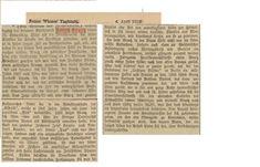 Lebenslauf von F.Graetz , abgedruckt an seinem 70 Jährigen Geburtstag. Lebenslauf mit Puck Magazine in den USA. Erklärung zu Keppler Besitzer des Puck Magazine. Art Studies, Usa, Resume, Birthday, U.s. States