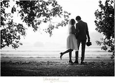 A wonderful future is ahead for this lovely wedding couple