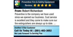 Preventive is the company we have used since we opened our business. Cust service is...