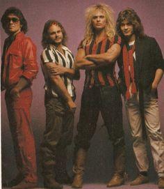 Definition of a Rock Band...VAN HALEN.