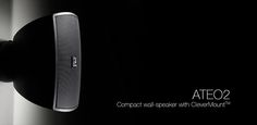 AUDAC ATEO2 compact wall speakers In Wall Speakers, Compact, Audio