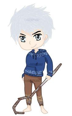 Chibi Jack Frost by Shendijiro.deviantart.com on @deviantART
