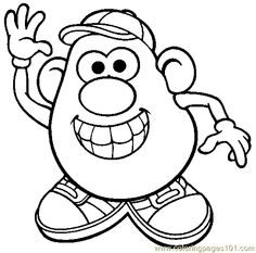 Mr Potato Head Parts Printables mr potato – the little puddins blog ...