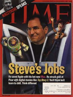 Time Magazine Covers Featuring Steve Jobs/ Oct. 8, 1999