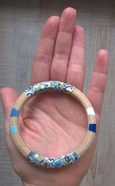 bracelet bois, liberté, vernis matériel freetime box