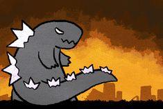 Godzilla's Rainbow Atomic Breath