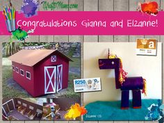 Congratulations Gianna (10) and Elzanne (9)! Each of you won your choice of a $20 Amazon voucher, or a R200 Takealot voucher to do with as you please  Email me to claim your prize. It just so happe…
