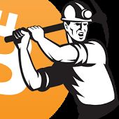 Buy Coal Miner Working Pick Ax Retro by patrimonio on GraphicRiver. Illustration of a coal miner striking working using pick axe done in retro woodcut style set inside circle. Free Vector Illustration, Free Illustrations, Vector Design, Design Art, Graphic Prints, Art Prints, Coal Miners, Clip Art Pictures, Free Cartoons