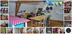Mon atelier de rêve....l'Atelier du Grenier!