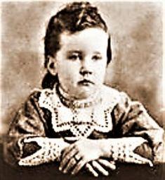 Rose Wilder at age 2.