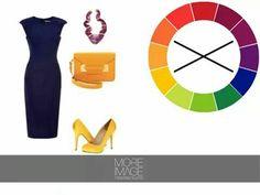 como usar el circulo del color para hacer convinaciones en tu ropa.