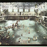 Plunge Pool at Natatorium Park, 1914