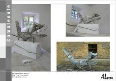 #Metal, #RecycledArt, #Sculpture dim:cm(12x54x72) - Alluminio & ferro  More information at Stefano Vitali website ! Idea sent by stefano vitali !