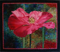 zubenpics:  Lenore Crawford. Winner of the Viewer's Choice Award at the 2007 Chicago International Quilt Festival.