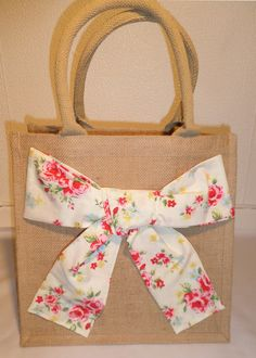 Girly Jute Bag For Sale