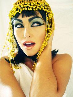 Cleopatra costume look by Kandee Johnson. beatifullll!!!!!!!!!!!!!!!!!!!!!!!!1