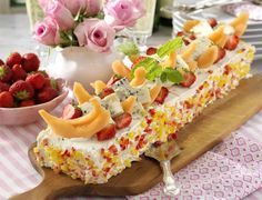 Sandwich Cake, Sandwiches, Fika, Ost, New Kitchen, Entrees, Bacon, Food And Drink, Appetizers