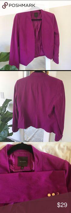 The Limited Purple Blazer Excellent condition blazer The Limited Jackets & Coats Blazers