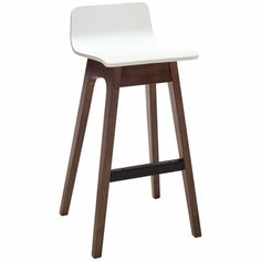 Agnes Low Back Barstool - Click to enlarge