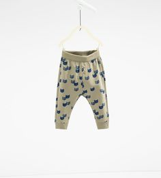 Cat leggings-TROUSERS-BABY BOY | 3 months-3 years-KIDS | ZARA United States