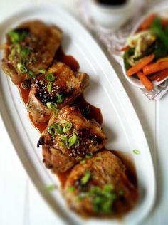 Asian Orange Soy Chicken