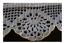 crochet - Mara Godoy - Álbuns Web Picasa trimmed in a color