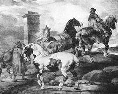 Horses - Theodore Gericault