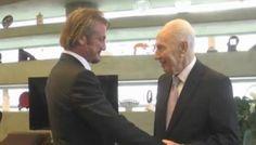 Shimon Peres y Sean Penn hablan de paz y de cambiar el mundo - http://diariojudio.com/noticias/shimon-peres-y-sean-penn-hablan-de-paz-y-de-cambiar-el-mundo/139062/