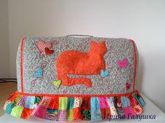 Чехол на швейную машинку, текстильный, лоскутный, - купить или заказать в интернет-магазине на Ярмарке Мастеров - E3G9TRU. Геленджик | чехол для швейной машинки, ткань США, хлопок…