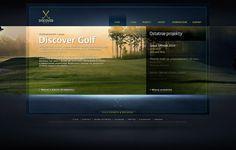 Discover Golf by Milosz Pirog, via Behance Mecca, Golf, Behance, Website, Turtleneck