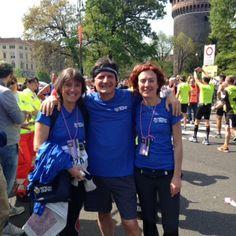 #Retedeldono con Antonio Brienza, top fundraiser di Change #milanomarathon #staffettami