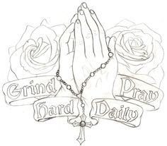 Praying hands with rosary Prayer hands tattoo and Jesus hand tattoo Chest Tattoo Drawings, Cool Chest Tattoos, Chest Piece Tattoos, Body Art Tattoos, Fly Tattoos, Hand Drawings, Tattoo Design Drawings, Tattoo Sleeve Designs, Tattoo Outline Drawing